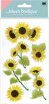 Sunny Sunflowers 3D  Stickers - Jolee's Boutique