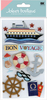 Bon Voyage Cruise 3D  Stickers - Jolee's Boutique