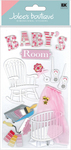 Baby's Room 3D  Stickers - Jolee's Boutique