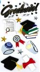 Graduate 3D  Stickers - Jolee's Boutique