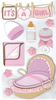 Baby Girl 3D  Stickers - Jolee's Boutique