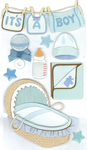 Baby Boy 3D Stickers - Jolee's Boutique