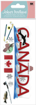 Canada 3D Title  Stickers - Jolee's Boutique