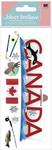 Canada 3D Title  Stickers - Jolee's Boutique