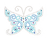 Mosaic Butterfly Medallion - Jolee's Jeweled Accents
