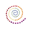 Rainbow Spiral Accent - Jolee's Jeweled Accents