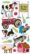 Farm Animals Sticko Stickers