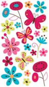 Butterfly Garden Sticko Stickers