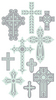 Crosses Sticko Stickers