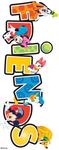 Friends 3D Title Disney Stickers - EK Success