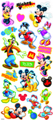 Mickey & Friends Chipboard Disney Stickers - EK Success