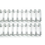 """1"""" Silver Binding Wires"""