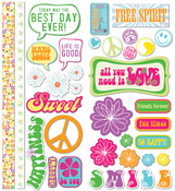 Free Spirit Favorite Pieces CS Stickers by Little Yellow Bicycle