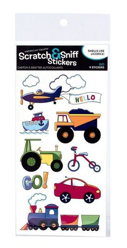 Go Licorice Scratch & Sniff by American Crafts
