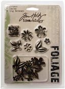 Metal Foliage - Tim Holtz Idea - ology