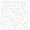 White Butterfly Die Cut 12x12 Paper