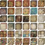 Lost & Found Paper Stack - Tim Holtz Idea-ology Paper