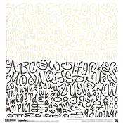 Cappella Alphabet Stickers by Basic Grey