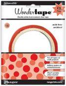 """Wonder Tape  Roll - 1/8""""x15'"""