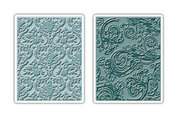 Damask & Regal Texture Fades Embossing Folders - Tim Holtz Alterations