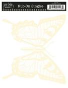 Cream Butterfly Rub-Ons - Jenni Bowlin Studio