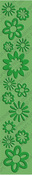 "Botanicals 12"" Embossing Folder Border - Cuttlebug"