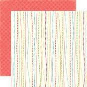 Whimsy Stripe Paper - Sweet Summertime - Echo Park