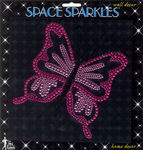 Butterfly Rhinestone Wall Sticker by Mark Richards