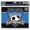 San Jose Earthquakes MLS Decal