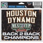 Houston Dynamo MLS Cup Champions Decal