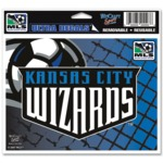 Kansas City Wizards MLS Decal
