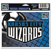 Kansas City Wizards MLS Decal