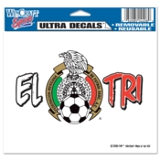 Mexican National Soccer MLS Decal