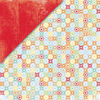 Twister / Red Tonal Paper by Little Yellow Bicycle