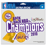 2010 NBA Champion LA Lakers Decal
