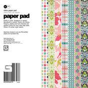 Olivia 6x6 Paper Pad by Basic Grey