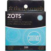 Removable Zots Memory Clear Adhesive Dots by Therm O Web