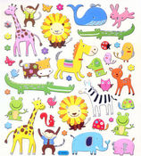 It's A Zoo! Stickers