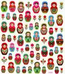 Babushka Stickers