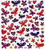 Pink & Purple Butterflies Stickers