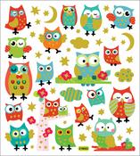 Bright Owls Stickers