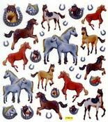 Horses & Horseshoes Stickers