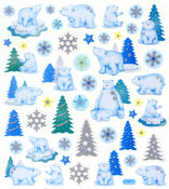 Polar Bears Stickers