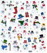 Snowmen Stickers