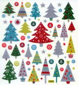 Christmas Trees Stickers