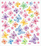 Soft Butterflies Stickers