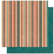 Olivia Stripe Paper by Bo Bunny