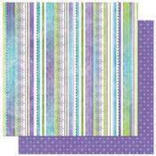 Winter Joy Stripe Paper by Bo Bunny