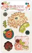 Olivia iCandy Chipboard Stickers by Bo Bunny