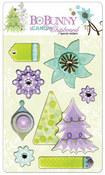 Winter Joy iCandy Chipboard Stickers by Bo Bunny